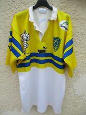 Maillot rugby ASM CLERMONT AUVERGNE MICHELIN vintage PUMA shirt 2000 2002 XL