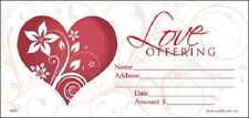 Love Offering Envelope (Pack Of 100) By American Church, Inc. 999801