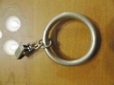 """Brand New JC Penney Platinum Gold Clip Rings ~ Set of 14 ~ 2"""" Diameter"""