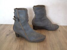 BOTTINES TRIPPEN CUIR GRIS POINTURE 39