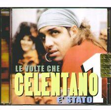 """ADRIANO CELENTANO """"LE VOLTE CHE E' STATO 1"""" CD SIGILLATO MADE IN ITALY 2003 RARO"""