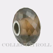 Authentic Trollbeads Silver Smoky Quartz Bead TrollBead   80103  TSTBE-20010