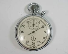 AGAT Russian USSR mechanical STOP WATCH 16 JEWELS (a26)