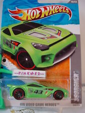 2011 i Hot Wheels SCORCHER #240∞Green∞Video Game