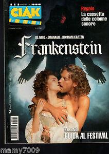 CIAK=N°=N°2 1995=8 MINILOCANDINE=FRANKENSTEIN DI MARY SHELLEY=FESTIVAL DI BERLIN