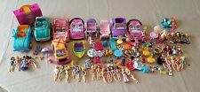 Huge Mattel Polly Pocket Lot - Dolls, Clothes, Shoes, Playsets & Accessories