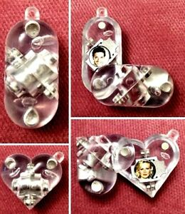 Illusionist Locket - Magic Pendant - Illusion Hearth Necklace - Transparent