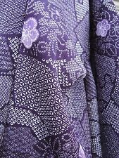 Kimonojacke, Kunstseide, ஐƸ̵̡Ӝ̵̨̄Ʒஐ** Haori, neuwertig, TOP, SHIBORI