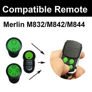 Merlin M842/M832/ M844 Compatible Garage Door Remote Control Prolift 230T/430R