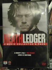 HEATH LEDGER - LORDS OF DOGTOWN / THE PATRIOT ETC  - 3 DISC DVD - MINT /SEALED