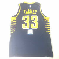 Myles Turner signed jersey BAS Beckett Indiana Pacers Autographed