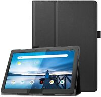 For Lenovo Tab M10 Case Leather Folio Stand Tablet Cover TB-X605F