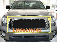 FOR 2007 2008 2009 Toyota Tundra  Black Wire Mesh Rivet Grille Grill Insert