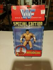 WWE WWF Jakks SPecial Edition Series 1 British Bulldog Action Figure 1997