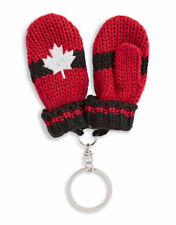 2018 Pyeongchang Olympic Team Canada HBC Red Mittens Keychains Key Chains X 5
