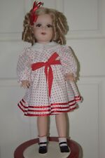 SHIRLEY TEMPLE Porcelain Doll HANDMADE