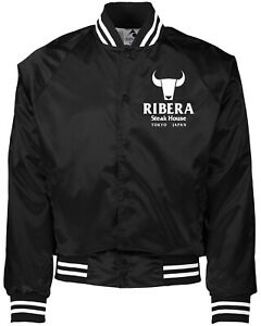 Ribera Wrestling Jacket Coat (Choose from Black, Red, Blue, or Navy) WWE AEW WWF