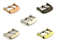 Stainless Steel Tang Buckle for Watch Strap Band 16 18 20 22 24 26 MM
