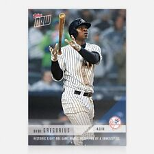 2018 TOPPS NOW #28 8-RBI GAME MARKS MOST EVER BY A YANKEES SHORTSTOP DIDI