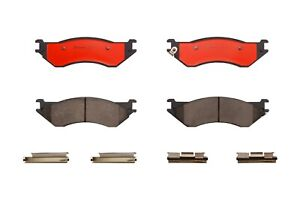 Brembo Front Brake Pad Set Slotted NAO Ceramic For Ford F-150 Lincoln Navigator