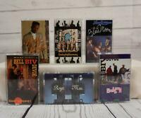 Rap Hip Hop Cassette Tape Lot BOYZ MEN Bobby Brown Bell Biv DeVoe New Edition x6