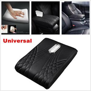 Car PU Armrest Memory Foam Central Control Cover Cover Pad Cushion Tissue Box