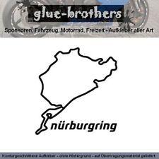 Nürburgring Nordschleife Aufkleber Autoaufkleber Sticker Tuning 11x10 Farbauswa.