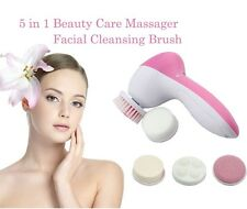 5 IN 1 ELECTRONIC FACIAL CLEANING FACE BRUSH MASSAGE SKIN CARE MACHINE