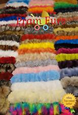 Pram Faux Fur Hood Furs Trim Baby Pram Buggy Pushchair Parts Universal Fit