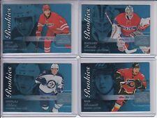 15/16 Fleer Showcase Calgary Flames Sam Bennett Blue Ice RC Ltd #116/199