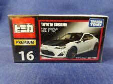 Tomica Premium No. 16  TOYOTA 86 GRMN  , TAKARA Tomy Diecast vehicle , 1/60