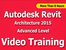 Learn Autodesk Revit Architecture 2015 Video Training Tutorials CBT Level 2