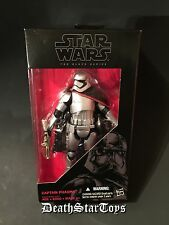 "Star Wars The Black Series 6"" First Order Clone Captain Phasma Force Awakens 06"