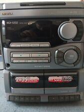 Aiwa NSX-5202 Stereoanlage mit 3fach CD Wechsler u.Kassette Kompakt-Stereoanlage