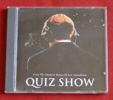 Quiz Show - OST Soundtrack CD - music by Mark Isham Lyle Lovett - Hollywood 1994