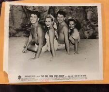 Ronald Reagan Virginia Mayo The Girl from Jones Beach Vintage  movie photo