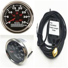 85mm LCD GPS Speedometer W/Backlight 0-35Knots For Boat Car Truck Waterproof