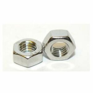 """UNC Hexagon full nut A2 Stainless Steel 5/16"""", 3/8"""", 1/4"""", 1/2"""", 5/8"""", 3/4"""""""