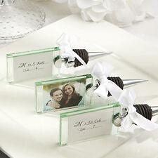 12 Photo Place Card Holder Bottle Stoppers Bridal Shower Wedding Favors