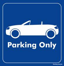 Parking Only - Audi TT 8N Roadster - Aufkleber