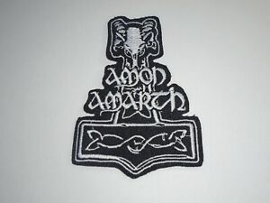 AMON AMARTH IRON ON EMBROIDERED PATCH