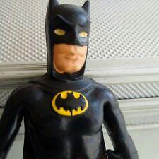 "RARE VINTAGE  1973 Mego""Bend n' Flex""Batman""DARK Knight 100% NOT PAINTED BLACK!"