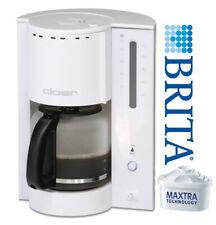 Cloer Kaffeemaschine Filterkaffeeautomat BRITA Wasserfilter 12-14 Tassen