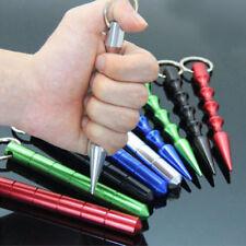 Aviation Aluminum Self Defense Tactical Pen Glass Breaker Tool Travel Night Safe