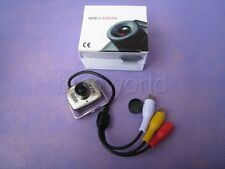 Mini  Spy 6LED Infrared CCTV Security Camera Video Color tiny size