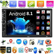 """2 DIN 7"""" HD Android 8.1 Touch Car Stereo GPS Navi BT FM MP5 Player WiFi FM Radio"""