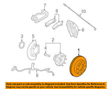 GM OEM Front Brake-Disc Rotor 23118117