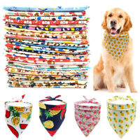 Pet Triangle Scarf Triangle Samll Dog Cat Towel Saliva Towel Random Color HOT