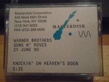 MEGA RARE Guns N' Roses DAT TAPE 1 of 3 MADE Knockin' On Heaven's Door BOB DYLAN