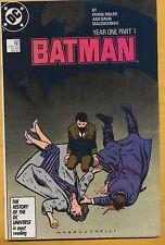 Batman #404 DC Comics 1986, Year One Part 1, Frank Miller